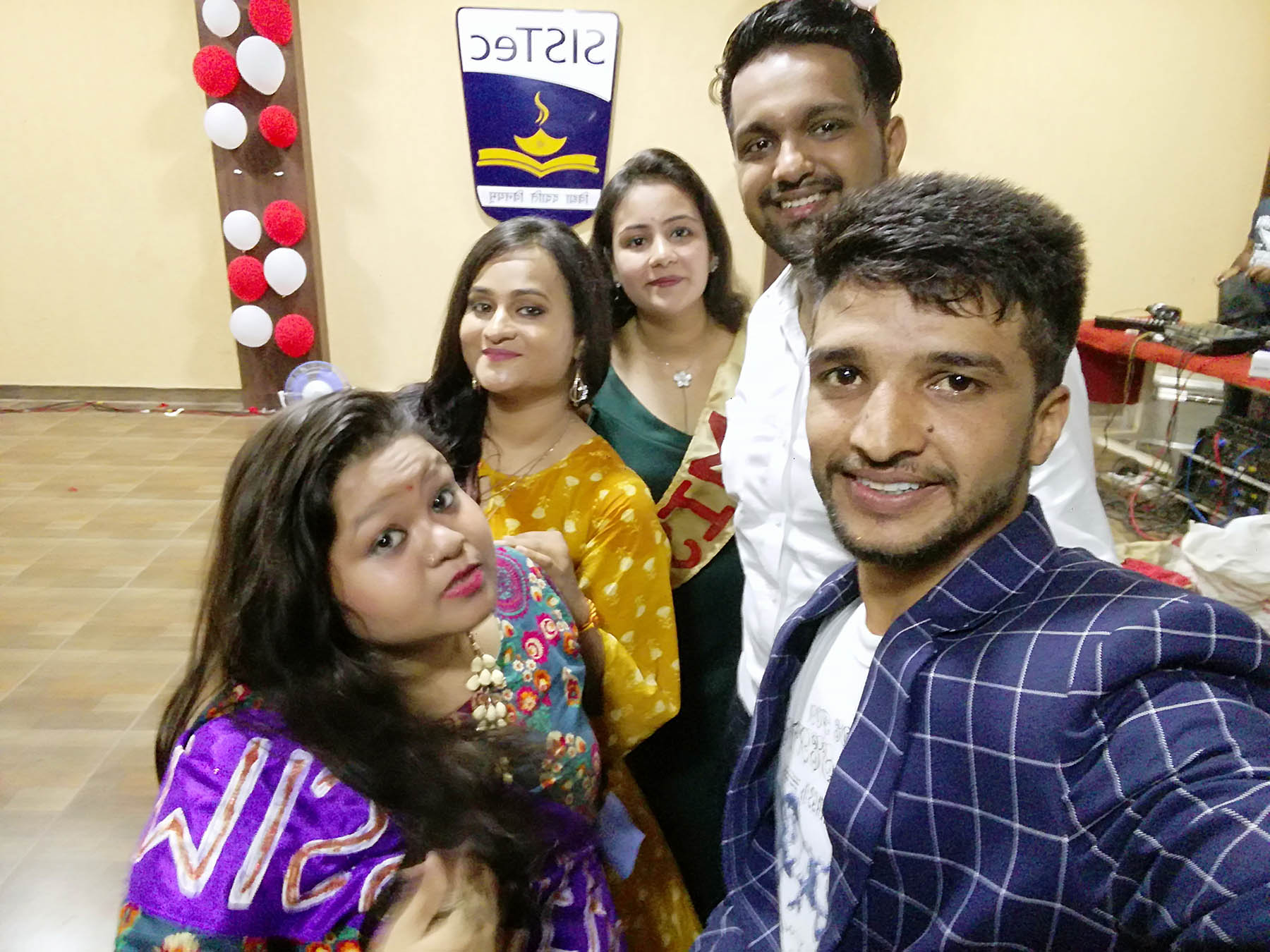 farewell party 2018, best mba colleges in mp, career options, sagar college