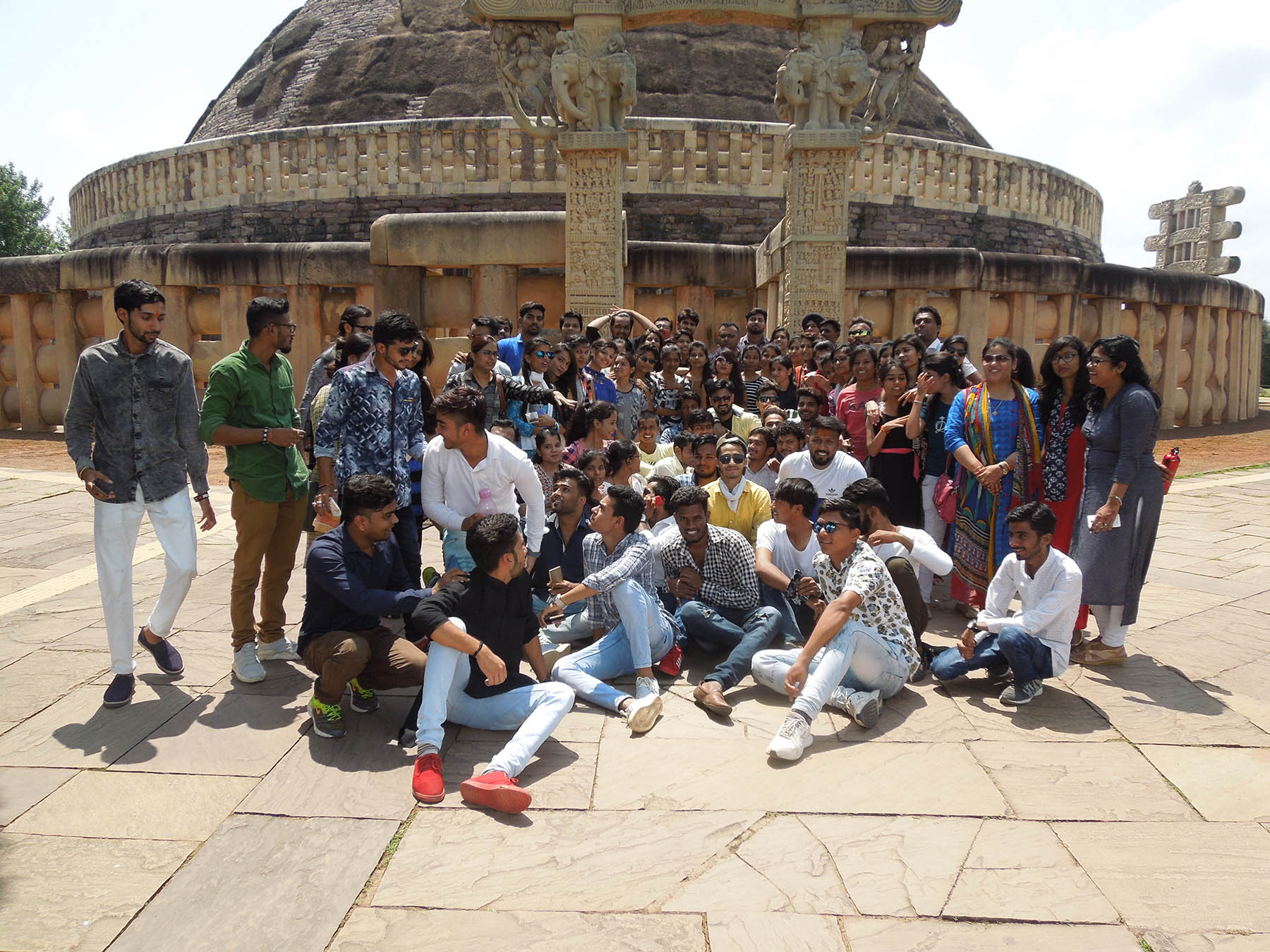 sanchi educational trip, best mba colleges in bhopal, admission in mba college
