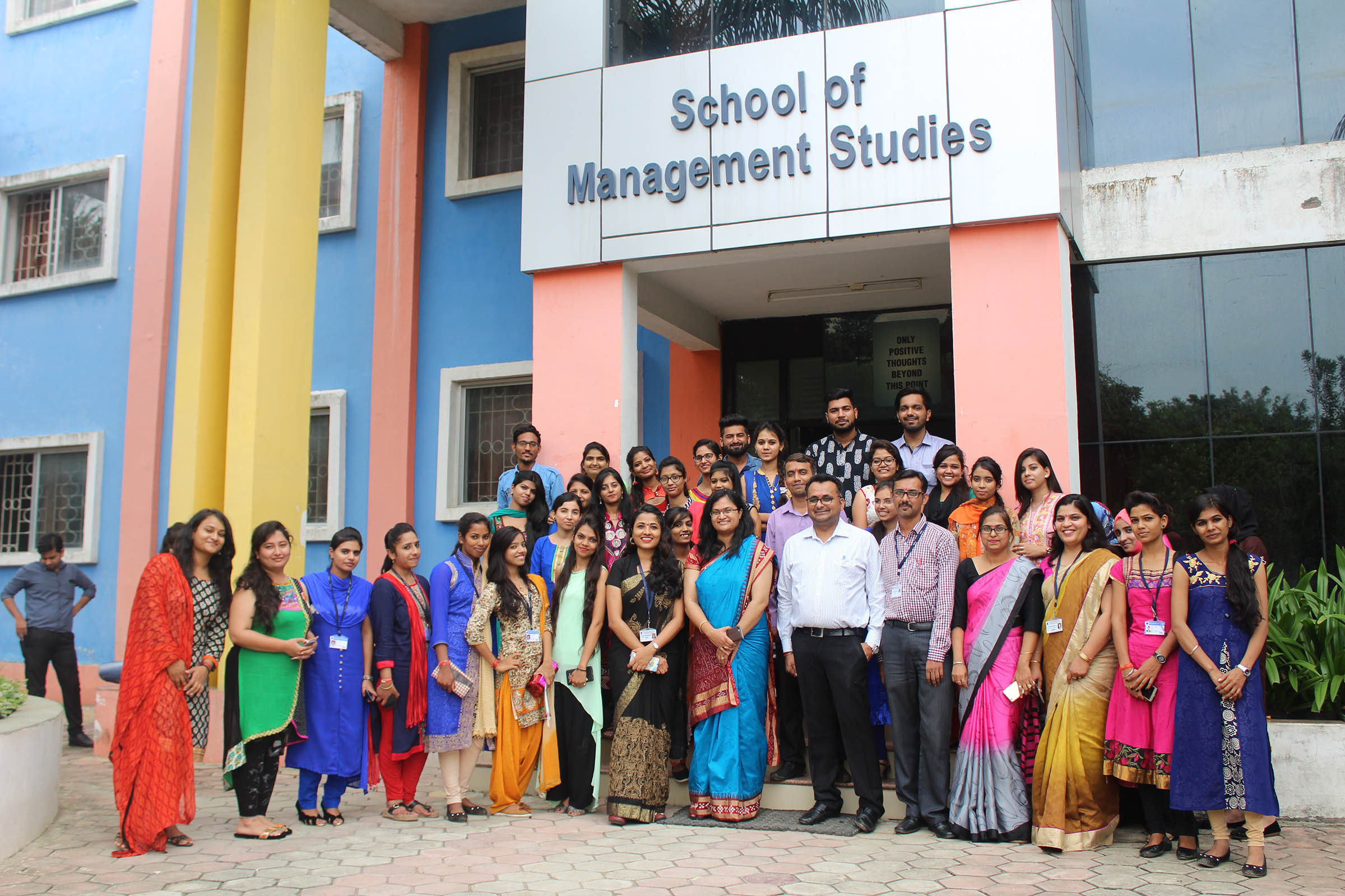 teachers day celebration, top mba colleges in mp, school of management studies