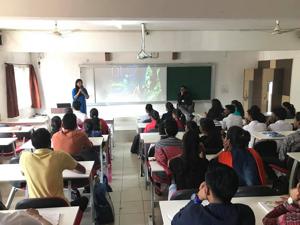 shahana khan guest lecture, mba courses, mba colleges admission open