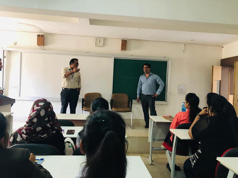 prakhar upadhyay guest lecture, management institute, mba colleges in bhopal