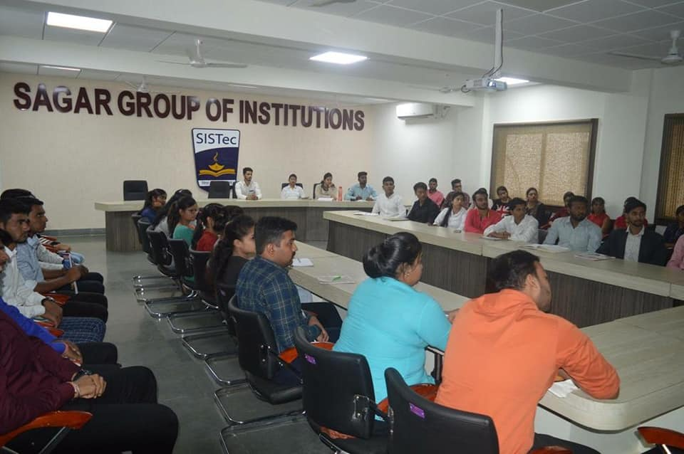 arpan saxena guest lecture, mba college, post graduation, sagar group of institutions