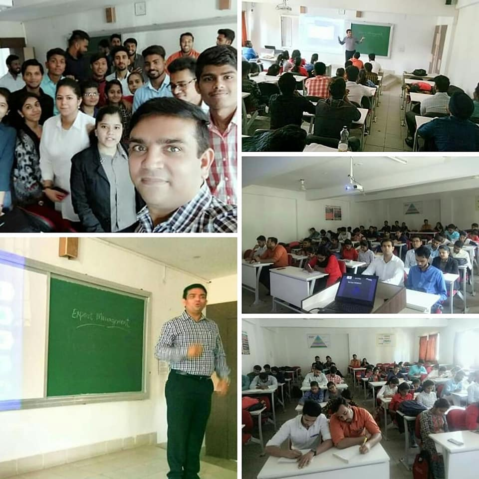 swapnil tripathi guest lecture, master of business administration, sistec bhopal