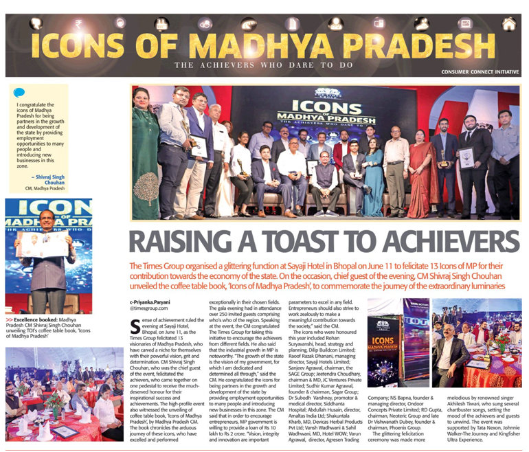 icons of madhya pradesh, sagar institute of science and technology